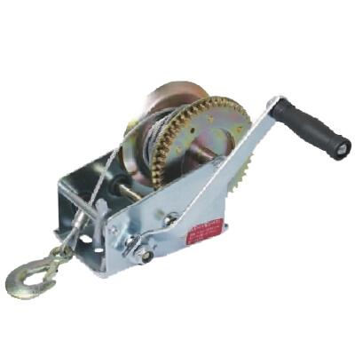 HAND WINCH  WITH STEEL WIRE ROPE OR STRAP